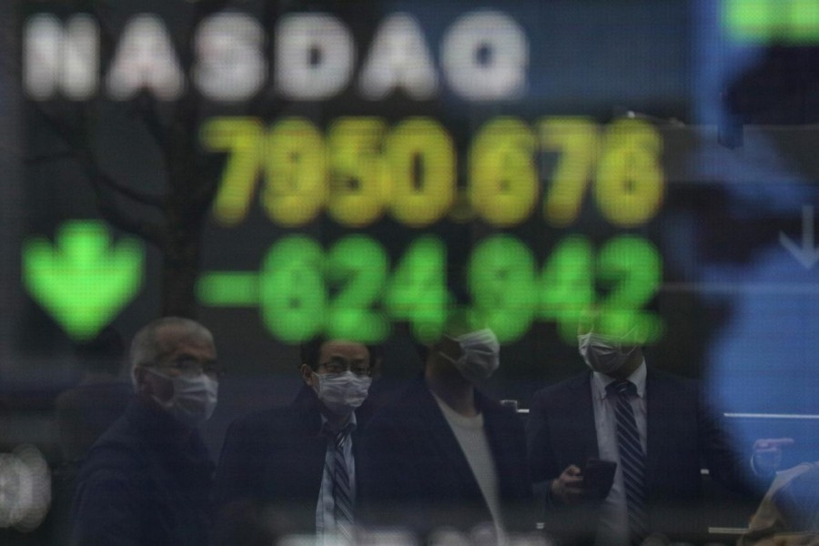 World stocks fall after Trump tests COVID-19 positive