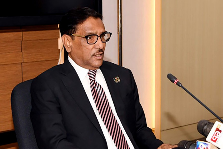 Quader describes BNP's participation in elections as joke