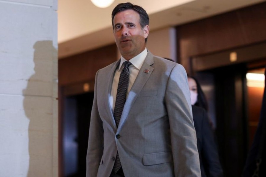 US Director of National Intelligence (DNI) John Ratcliffe arrives to brief Congressional leaders on reports that Russia paid the Taliban bounties to kill US military in Afghanistan, on Capitol Hill in Washington, US on July 2, 2020 — Reuters/Files