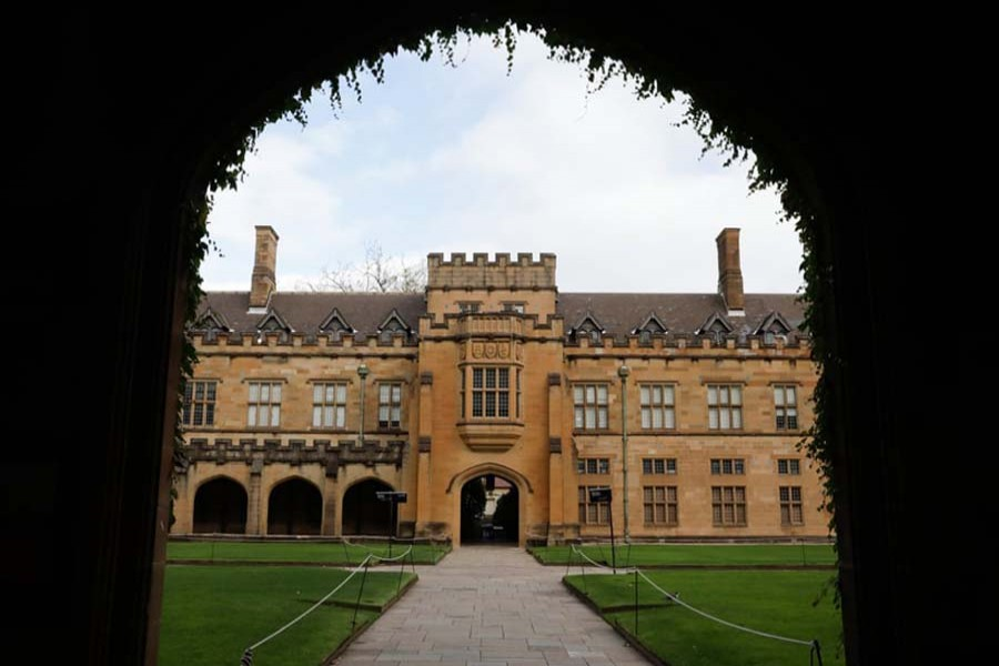 The University of Sydney campus. File photo