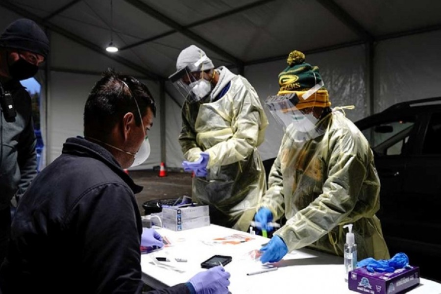 US records second-highest single-day rise in COVID-19 infections since pandemic began