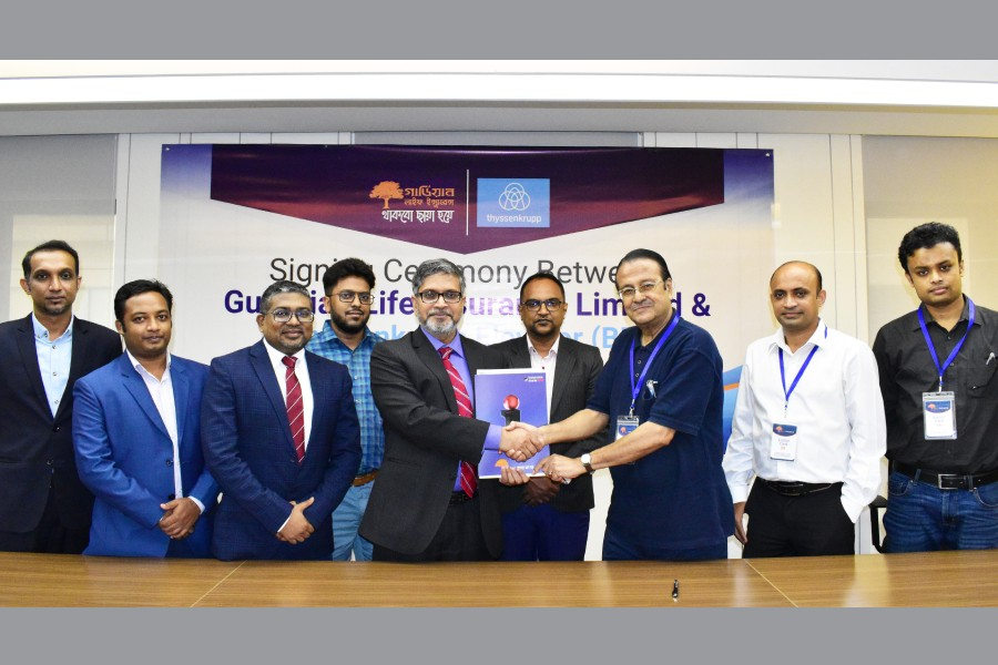 Guardian Life Insurance inks agreement with Thyssenkrupp Elevator (BD)