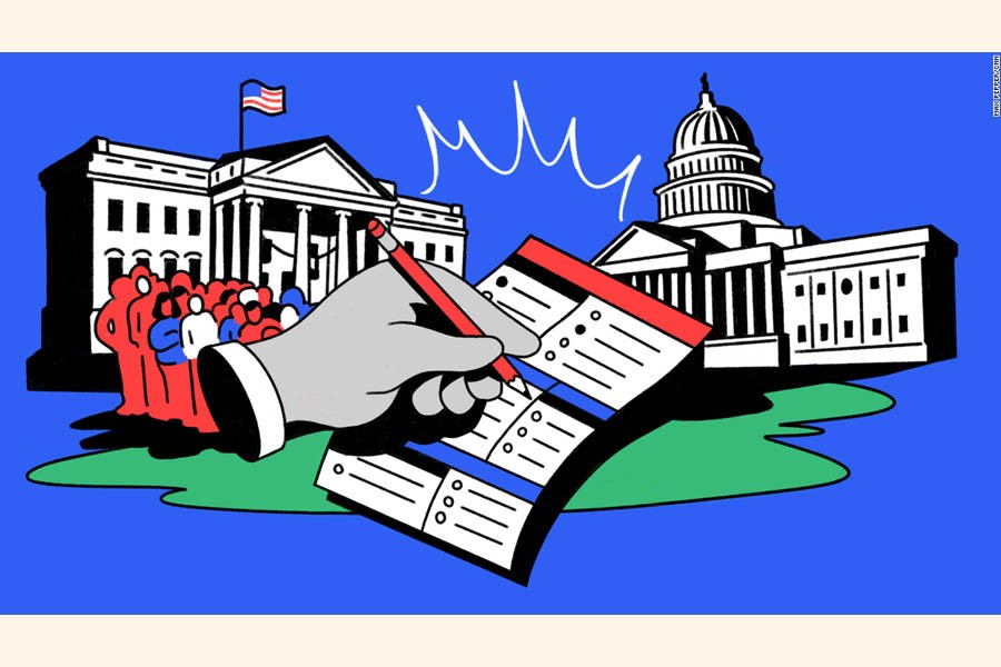 Democracy in the United States is under siege