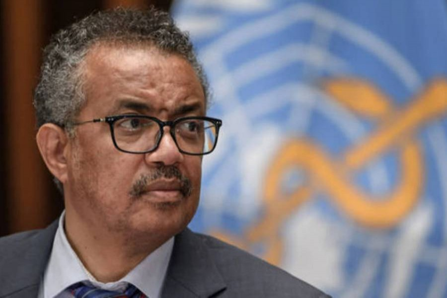 File photo of Tedros Adhanom Ghebreyesus. (Collected)