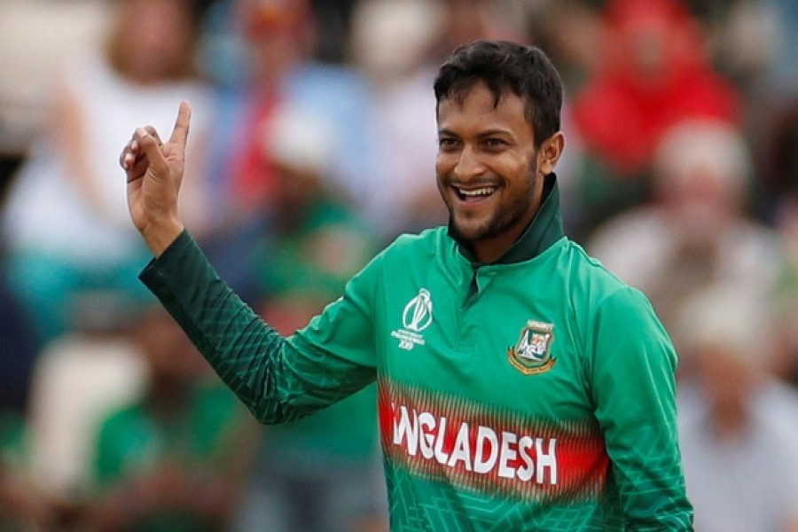 Shakib becomes number one ODI all-rounder again