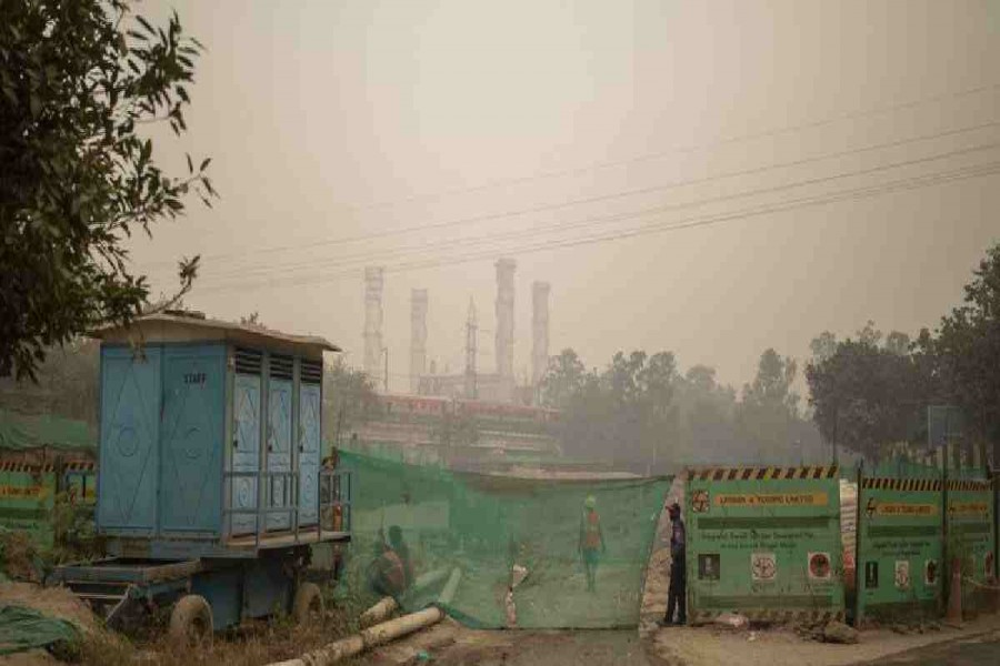 Polluted air spells trouble for virus patients in India