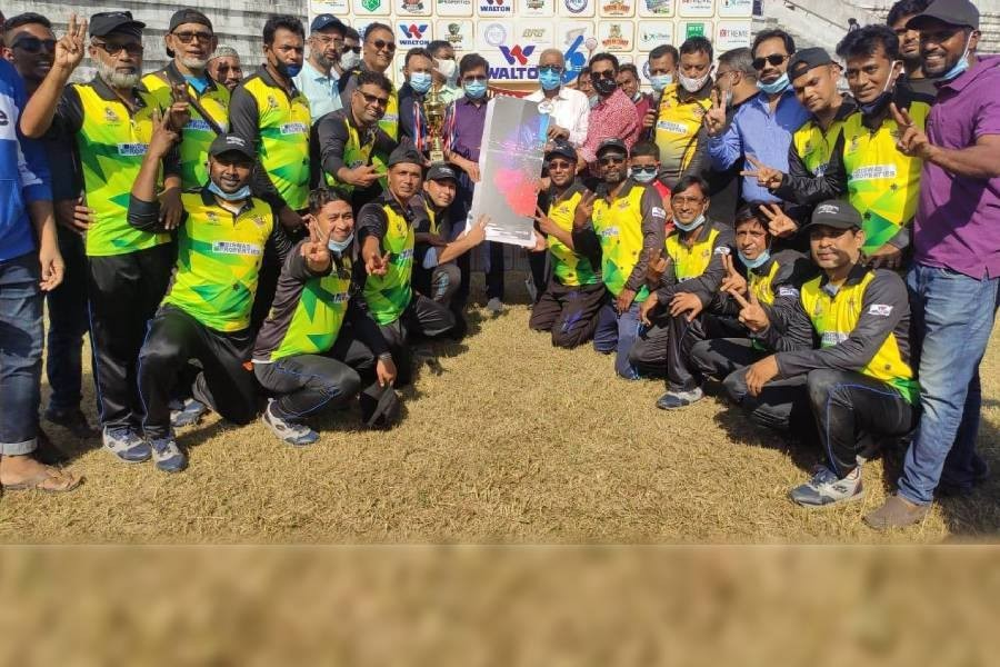 Madhumati Challengers emerge champions in Walton Khulna Press Club Media Cup