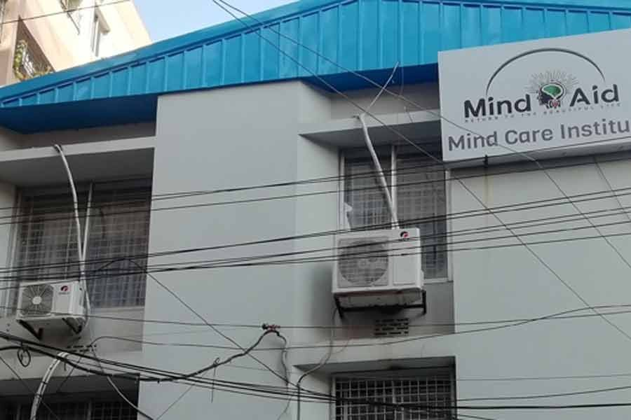 Mind Aid, a private mental healthcare clinic located in the city's Adabor