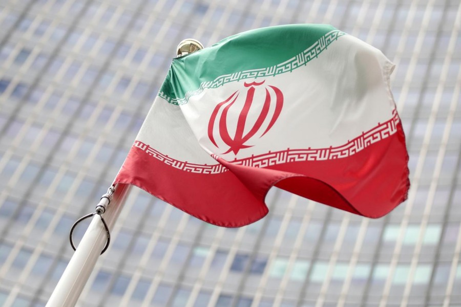The Iranian flag flutters in front the International Atomic Energy Agency (IAEA) headquarters in Vienna, Austria, July 10, 2019 — Reuters/Files