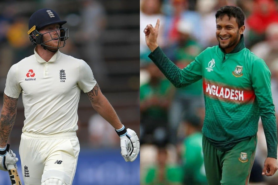 A combination photo of Shakib Al Hasan and Ben Stokes – Collected