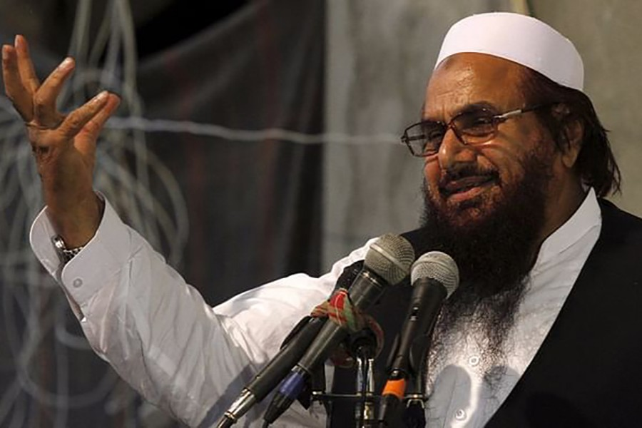 Pakistan court gives Hafiz Saeed 10 years imprisonment in terror cases