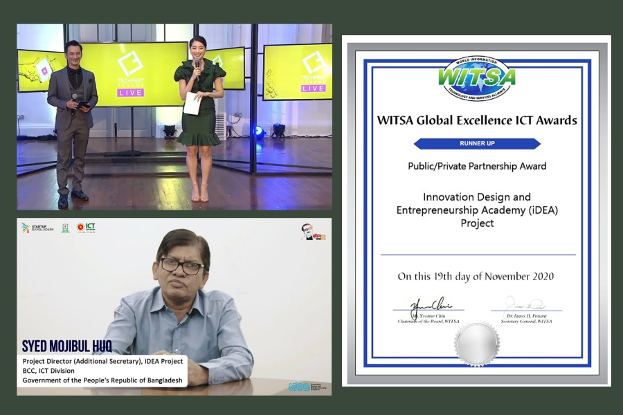 iDEA project receives WITSA award in Public-Private Partnership category
