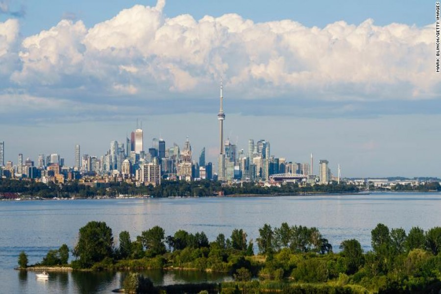 Toronto put into lockdown as infections soar