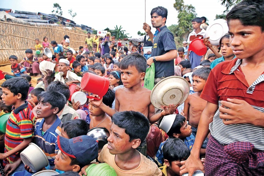Urgent steps of international community needed to resolve Rohingya crisis: FM