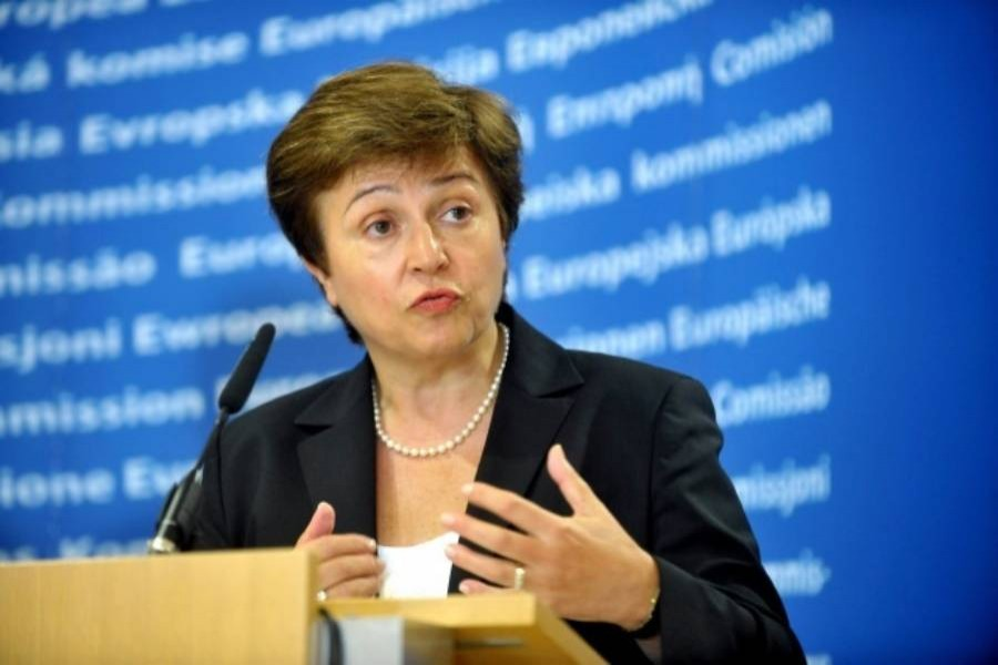 File photo of IMF Managing Director Kristalina Georgieva
