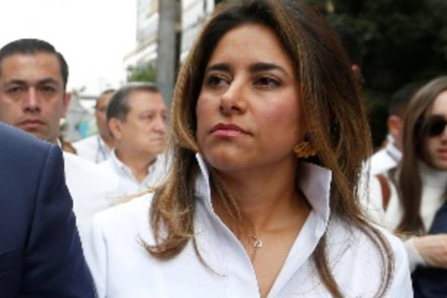Colombia's first lady tests positive for coronavirus