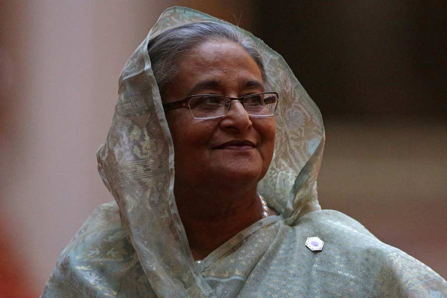 Sheikh Hasina's government positioned Bangladesh's economy as another haven for multinational companies looking to diversify away from China.   –Reuters file photo