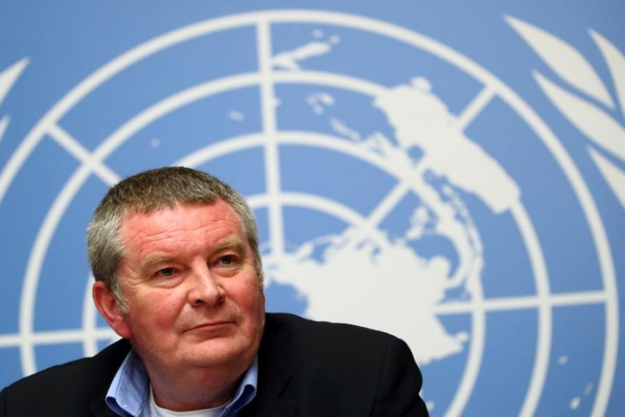 Mike Ryan, Executive Director of the World Health Organization (WHO) attends a news conference on the Ebola outbreak in the Democratic Republic of Congo at the United Nations in Geneva, Switzerland on May 3, 2019 — Reuters/Files