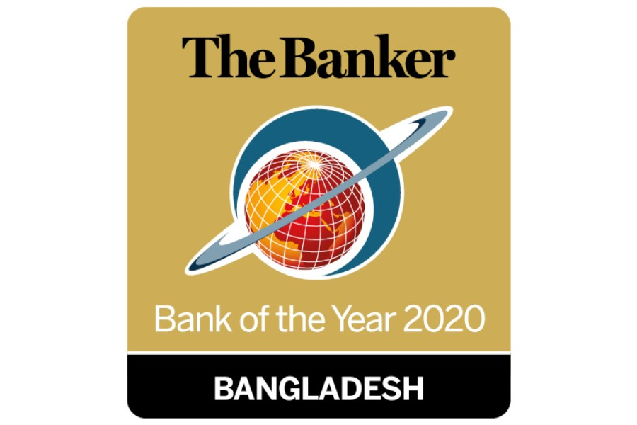 EBL adjudged Bank of the Year 2020 Bangladesh