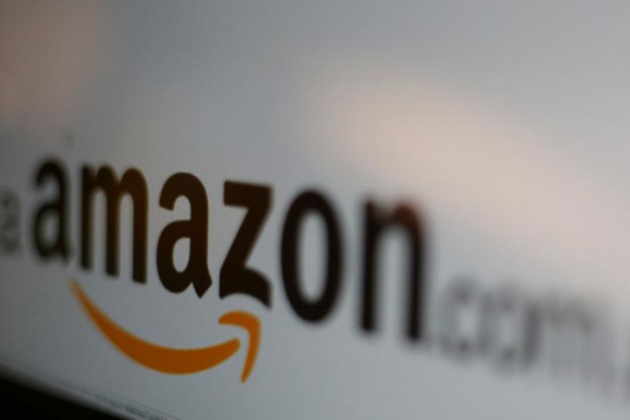 The logo of Amazon.com is pictured in this June 8, 2017 Reuters illustration photo