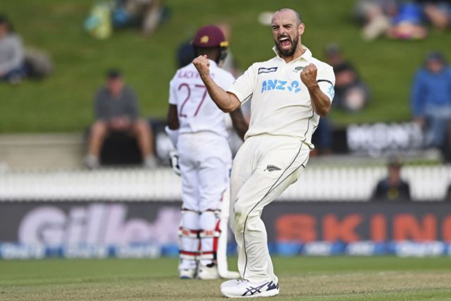 West Indies tumble in five-wicket New Zealand swing session