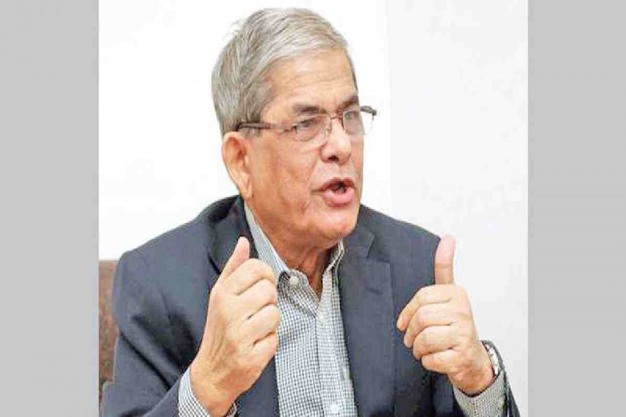 Fakhrul accuses AL of establishing 'reign of robbery'