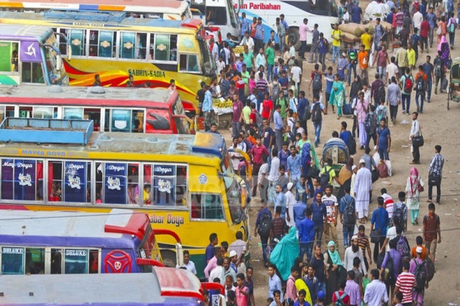 Four terminals to be built outside Dhaka for inter-district buses