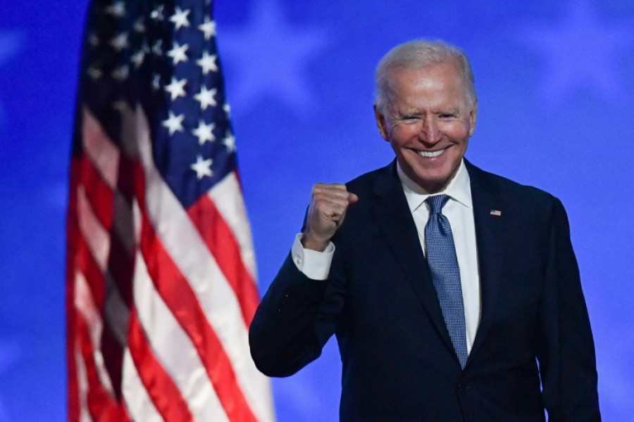 Biden sworn in as 46th US President as tumultuous Trump era ends