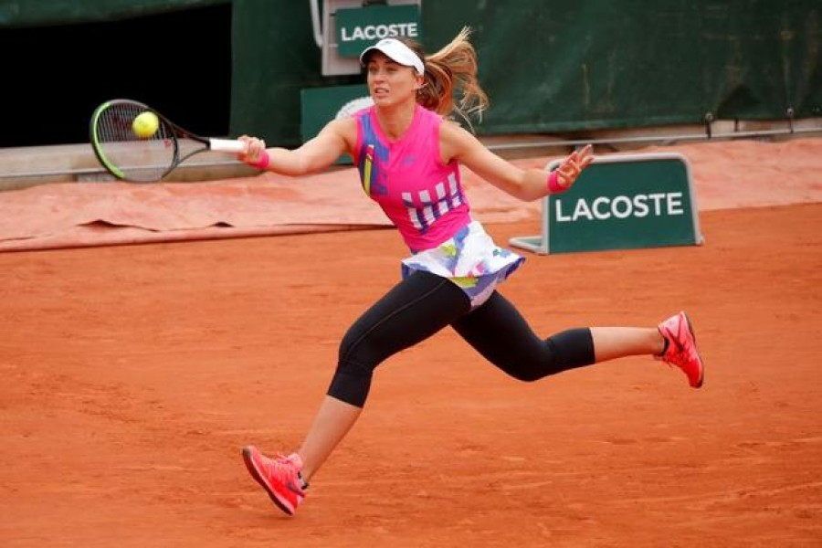 Tennis - French Open - Roland Garros, Paris, France - October 5, 2020 Spain's Paula Badosa in action during her fourth round match against Germany's Laura Siegemund — Reuters/Files