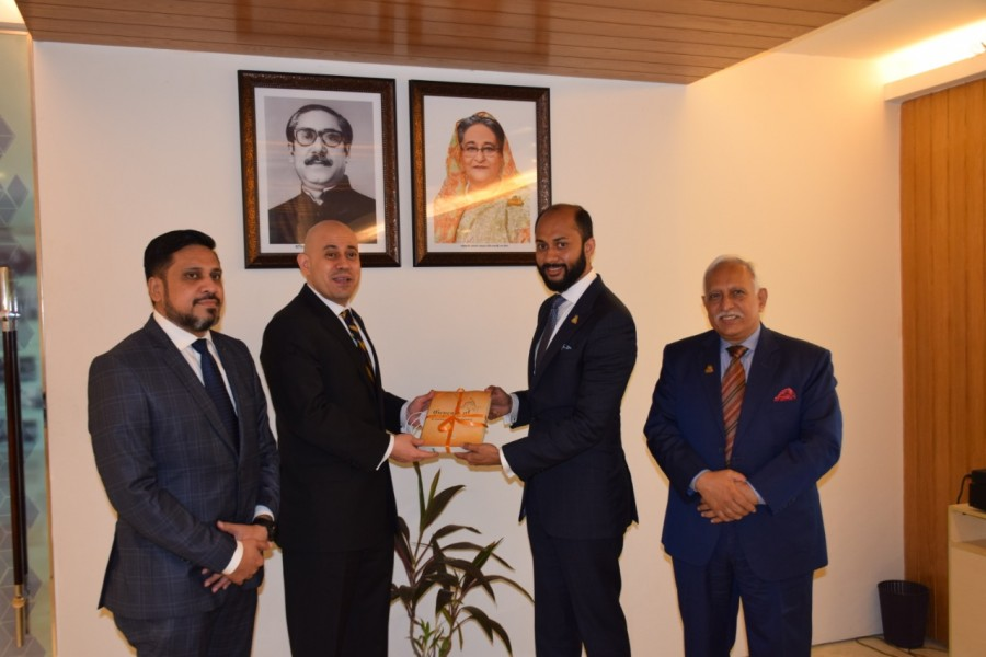 Bangladesh's infrastructure attractive to investors, Egyptian envoy tells DCCI President