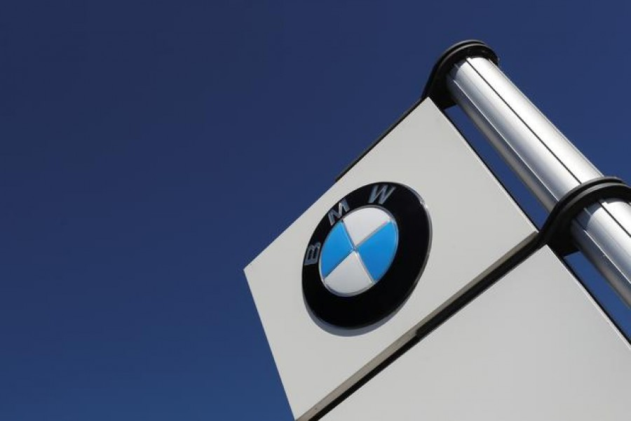 A logo of BMW is seen outside a BMW car dealer, amid the coronavirus disease (Covid-19) outbreak in Brussels, Belgium on May 28, 2020 — Reuters/Files