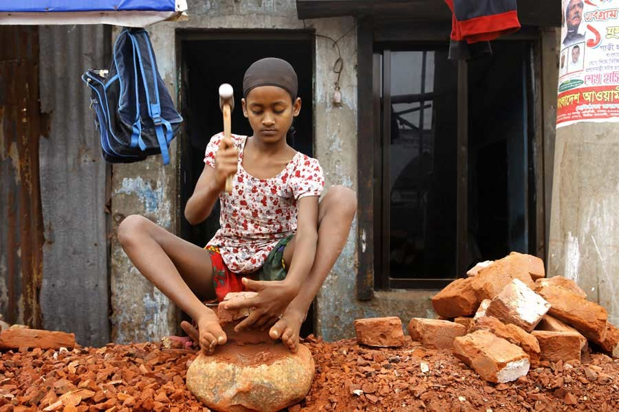 Elimination of child labour is a critical issue to obtain GSP-plus facility in the EU market —FE Photo