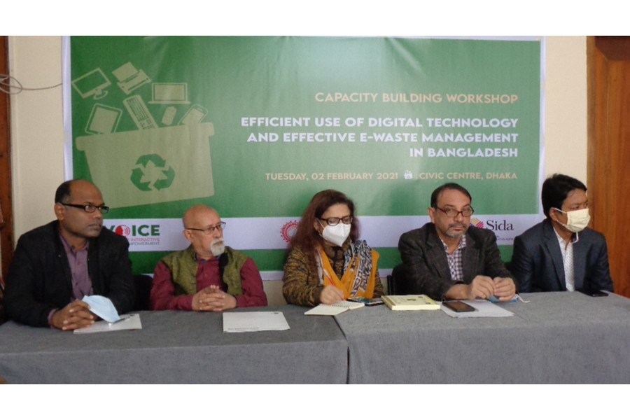 Speakers for comprehensive policies to address e-waste management