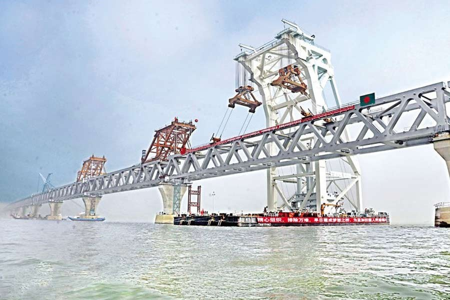 Completing the Padma bridge project