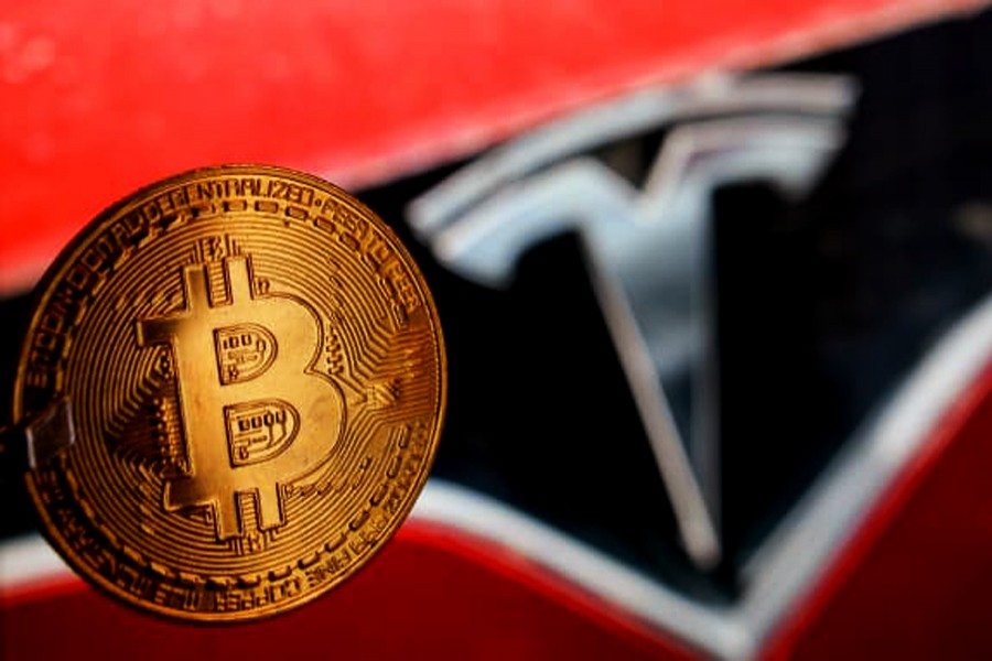 Bitcoin's steep drop drags billions off Tesla value, Musk wealth