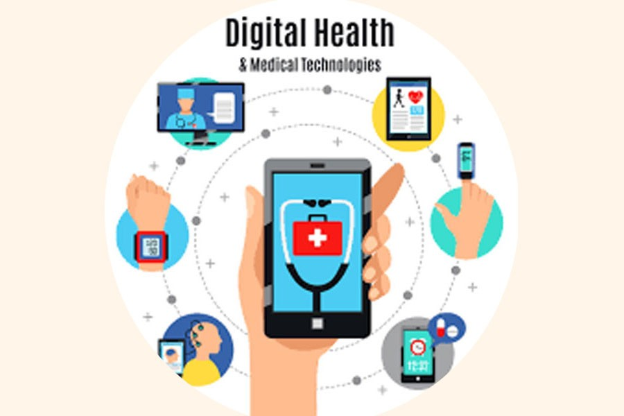 Aiding economy with digital health services
