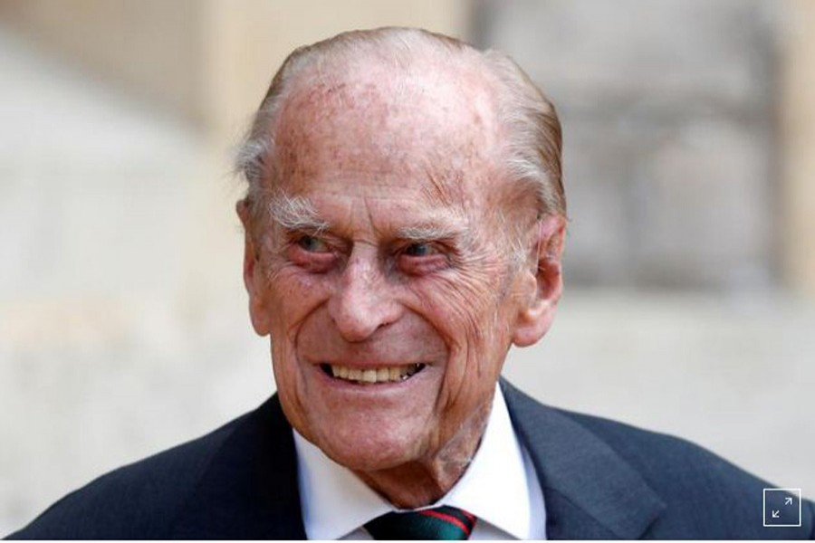 UK's Prince Philip still in hospital after two weeks
