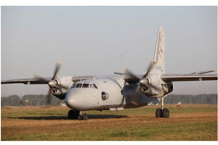 A Russian military transport plane An-26. Reuters