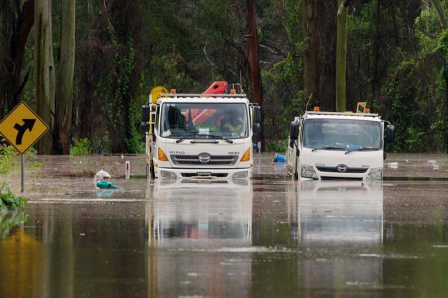Heavy rain, flash flooding batter Australia's east coast