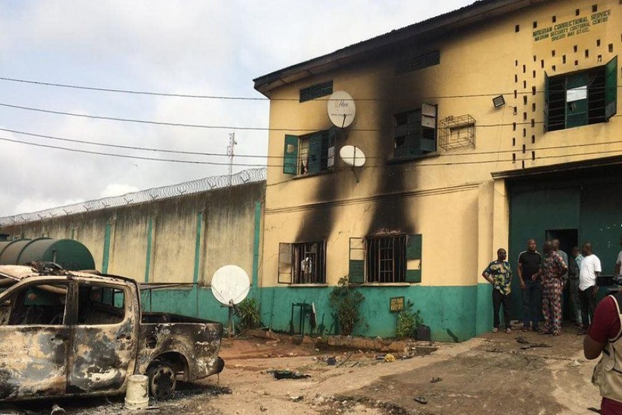 Police have accused the banned separatist group, the Indigenous People of Biafra, of carrying out the attack — BBC