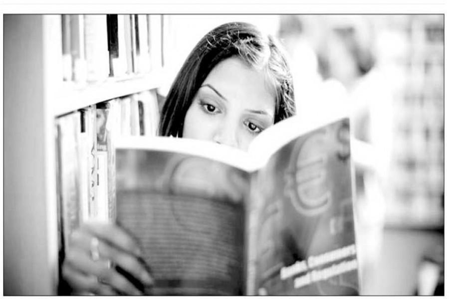 Reading --- a fruitful exercise in solitude