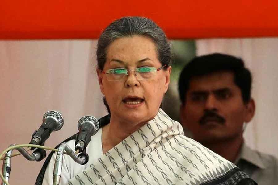 Modi created vaccine shortage through exports, Sonia Gandhi says