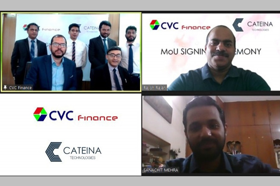 CVC Finance signs MoU with Cateina Technologies to enhance digital reach
