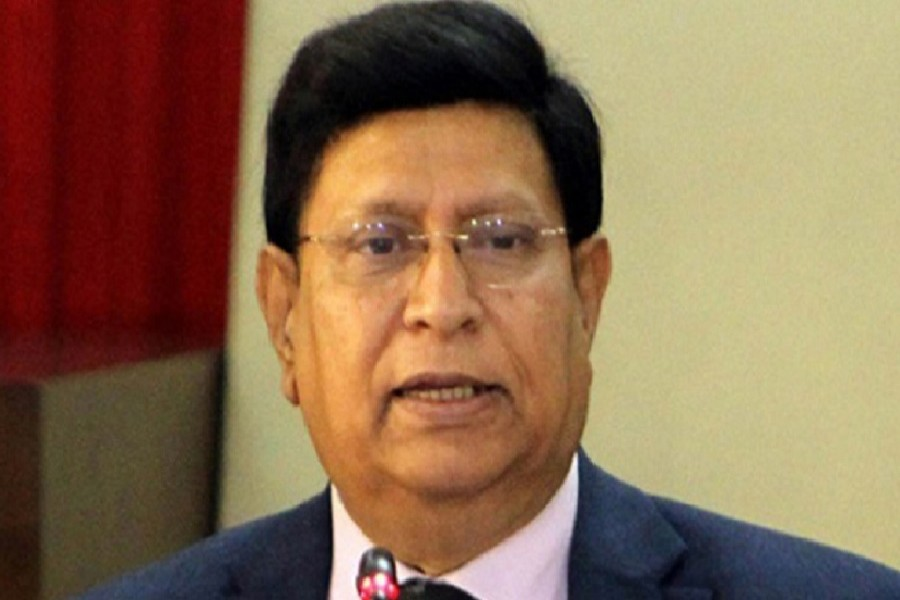 Foreign minister Dr AK Abdul Momen