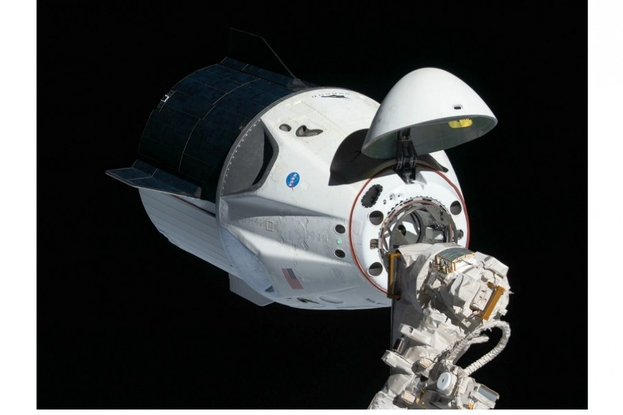 Crew Dragon undocks from the ISS to return to Earth