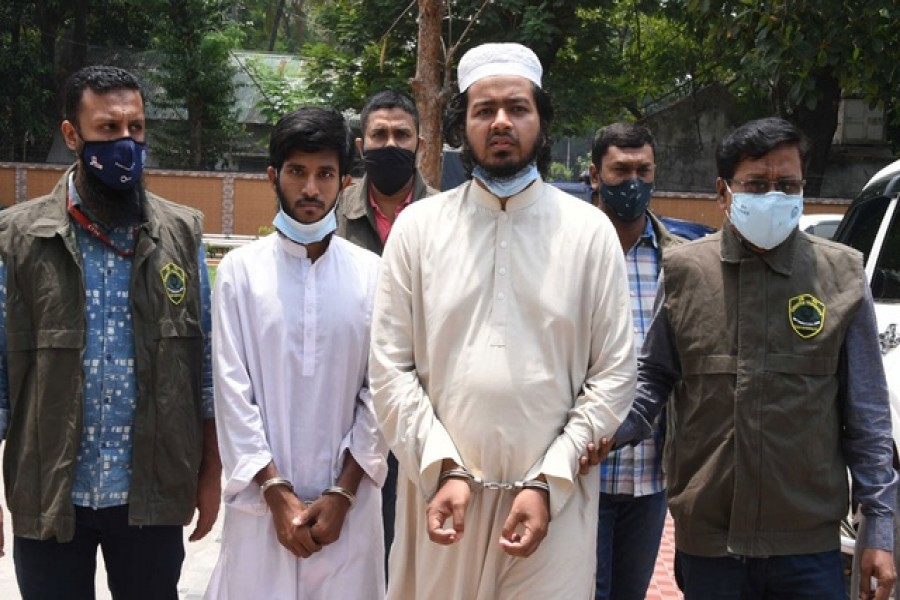 Two militants arrested for plotting to attack parliament with 'swords'