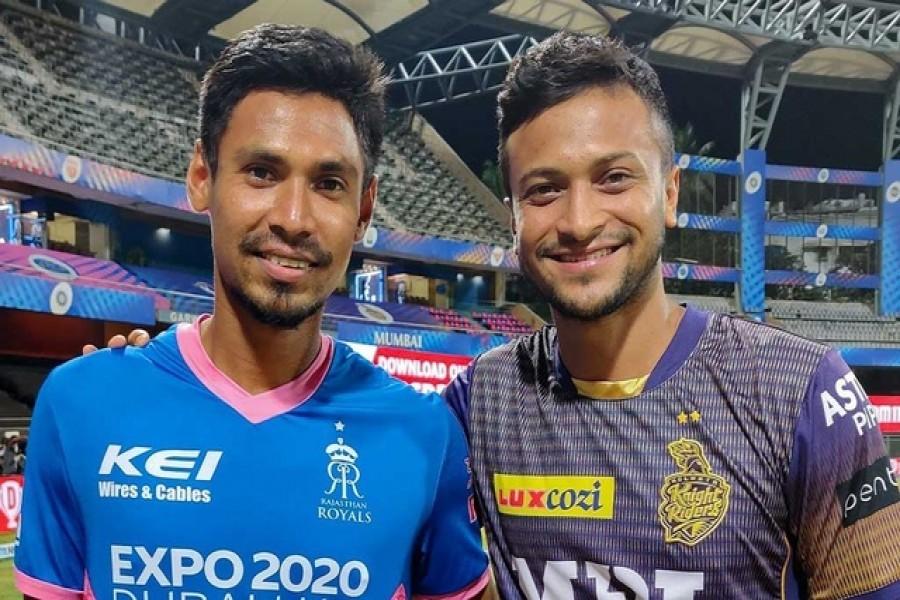 Shakib, Mustafizur return after IPL gets suspended