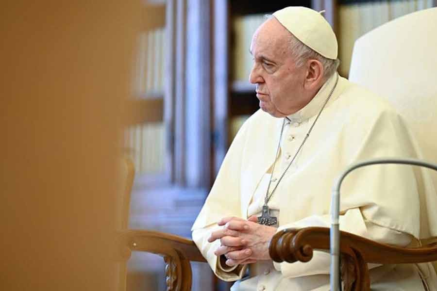 Pope Francis supports waiving intellectual property rights for vaccines