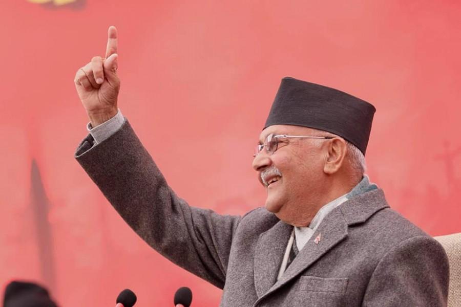 KP Sharma Oli sworn in as Prime Minister of Nepal