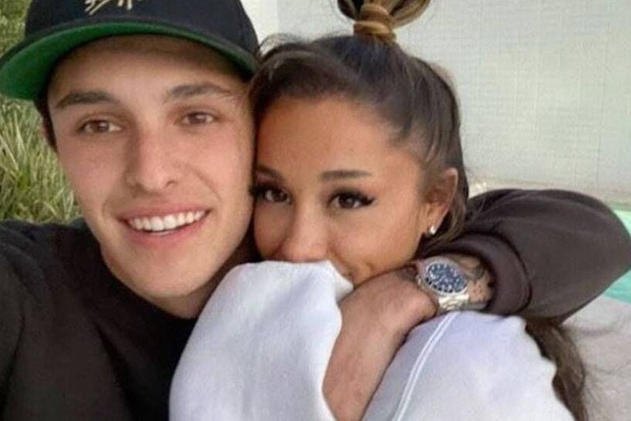Ariana Grande ties the knot with Dalton Gomez in 'intimate' ceremony
